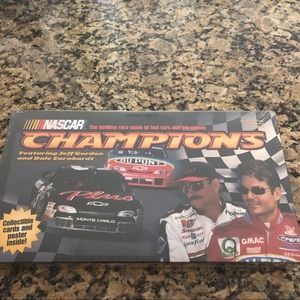 NASCAR NEW Champions Earnhardt Gordon Game Factor…
